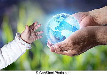 弾力性, 世代, 新しい世界