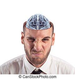 彎曲, 頭腦