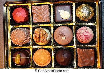 彙整, 巧克力