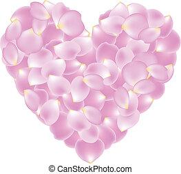 形づくられた心, 花弁