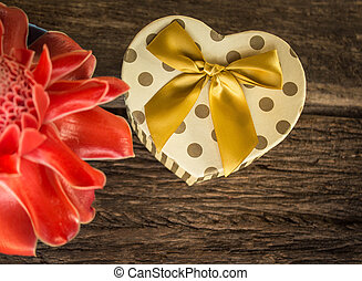 形づくられた心, 贈り物の箱, ∥で∥, flower.