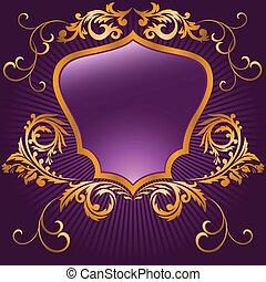形づくられた, 紫色, 保護