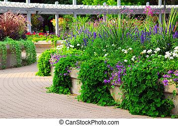 形式的な 庭