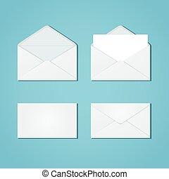 形態, セット, 封筒