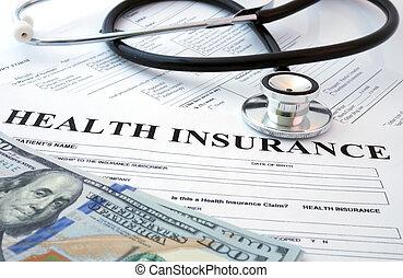 形態, 保険, 健康