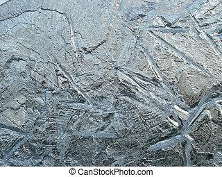 形, の, 氷