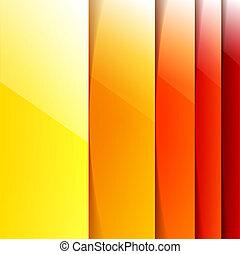形, オレンジ, 抽象的, 黄色, ]rectangle