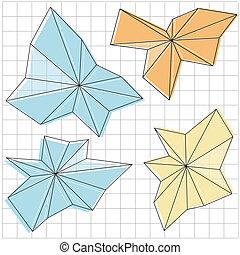 形, デザイン, 抽象的, 要素, 幾何学的