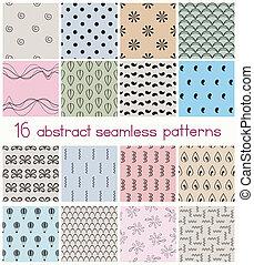 形, パターン, 別, seamless