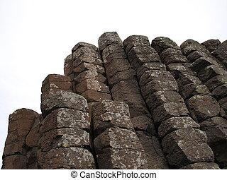 形, 六角形, 岩