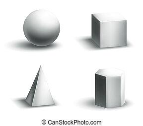 形, 幾何学的
