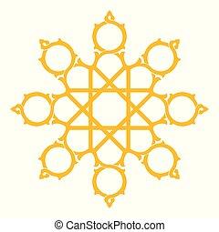 形, 星, アラベスク