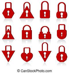 形, 錠, 別, セット, 金属