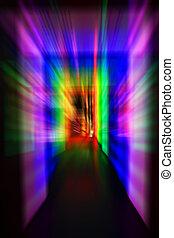 彩虹, 光, 門