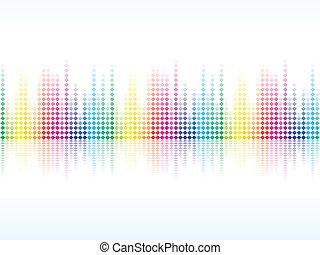彩虹, 閃閃發光, 鮮艷, 摘要