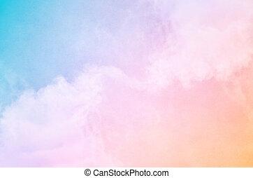 彩虹, 霧