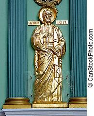 彫刻, モスクワ, ピーター, 使徒, 2011