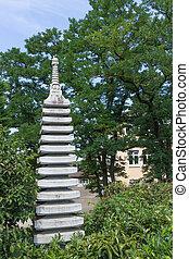 彫刻, 日本の庭