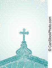 彫版, 教会