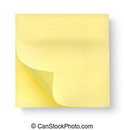 影, メモ用紙
