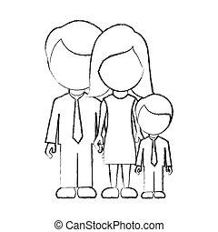 ∥(彼・それ)ら∥, アイコン, 家族, 数字, 息子