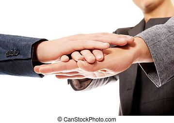 ∥(彼・それ)ら∥, 一緒の 手, ビジネス チーム
