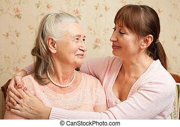 ∥(彼・それ)ら∥, 世話人, 年長の 女性, home.