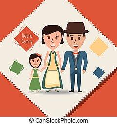 ∥(彼・それ)ら∥, 娘, レトロ, 家族, 親