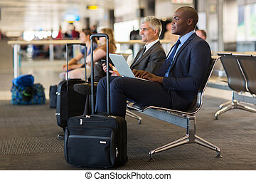 ∥(彼・それ)ら∥, 待つこと, 飛行, 旅行者, ビジネス