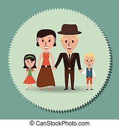 ∥(彼・それ)ら∥, 親, レトロ, 家族, 子供