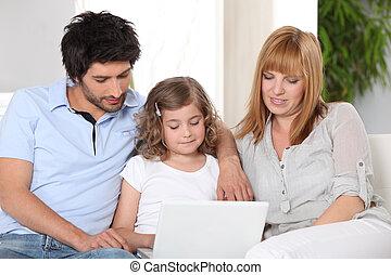 彼女, 助力, ∥(彼・それ)ら∥, 親, 子供, 宿題