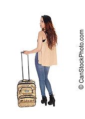 彼女, 女性の 地位, スーツケース