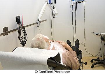 待っているマレ, 患者, 待遇