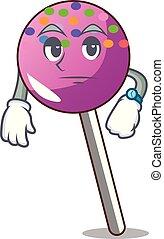 待つこと, マスコット, 振りかける, 漫画, lollipop