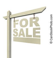 待售, 房地產 標誌, 信件