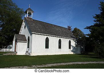 很少, 白色, 教堂