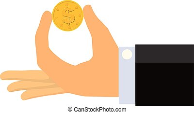 很少, 硬币, (isolated)