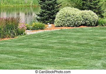後院, 景觀美化