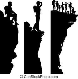 徒步旅行者, viewpoints