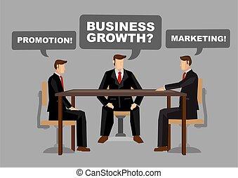 従業員, 人, 持ちなさい, 成長, について, 要求, 漫画, options., 他, 別
