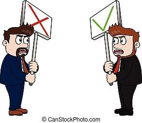 従業員, 反対意見