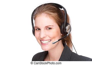 従業員, callcenter, 女性