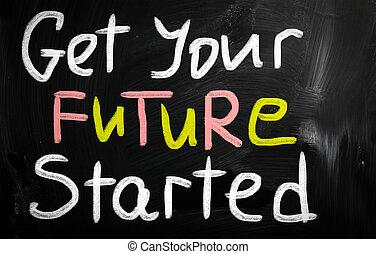 得到, 你, 未來, started, 概念