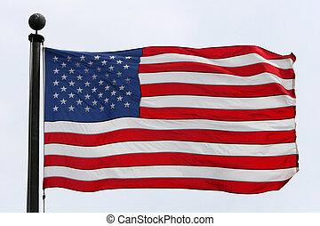 得意である, 旗