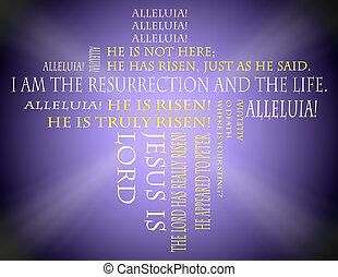 復活節, 手稿