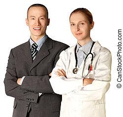 微笑の人, ビジネス, 医者