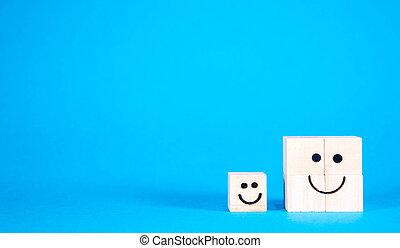 微笑の表面, 幸せ