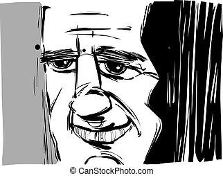 微笑人, 漫畫