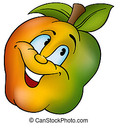 微笑, アップル