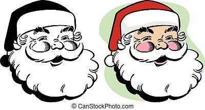 微笑, サンタクロース